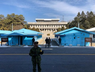 Filming in North Korea
