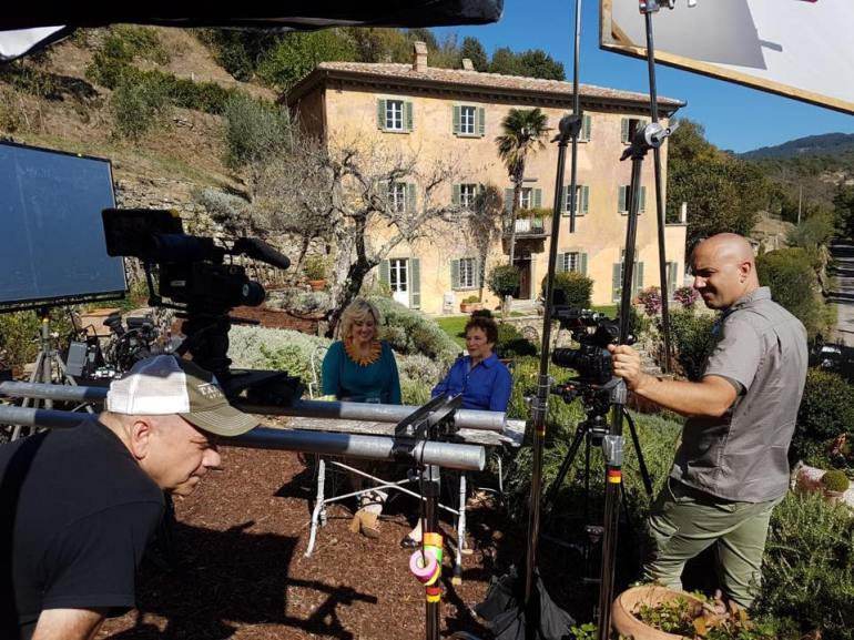 Frances Mayes for Under the Tuscan Sun interview